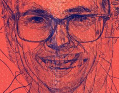 Portrait Illustration → Bethmann Bank AG