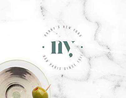 Harry's NY Bar | Brand identity