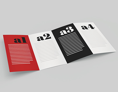 Mockup: Fold Brochure