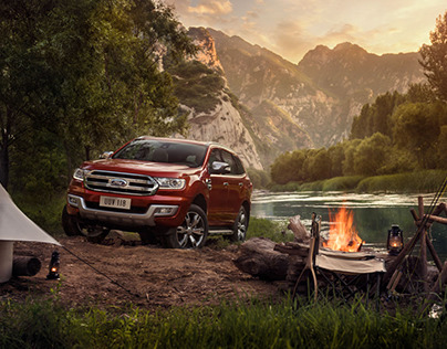 Ford Everest Campaign shot by Seagram Pearce