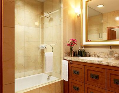 Palisade Room 3D Bathroom Design