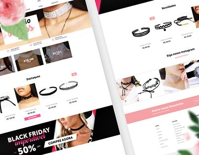 Amo Choker - Branding & E-commerce