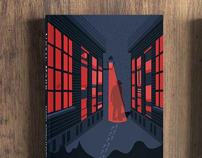 Until Dark book cover design