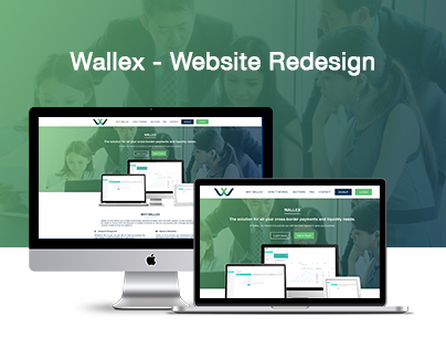 Wallex -Website Redesign