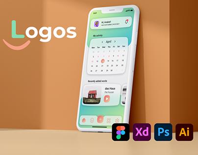 Logos Vocabulary App (Case Study & Redesign)