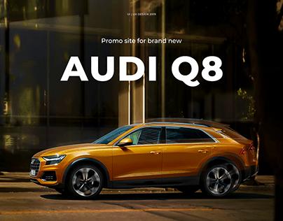 Audi Q8 Promo Site