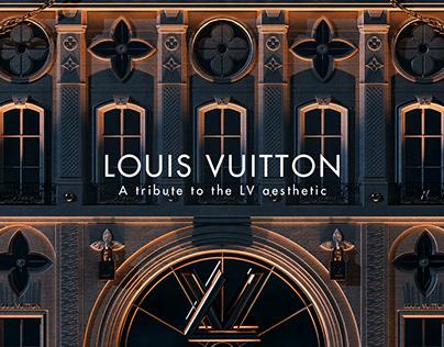 Louis Vuitton aesthetic