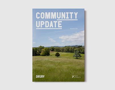 Drury community development communications