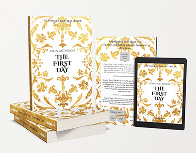 THE FIRST DAY Book Cover Template