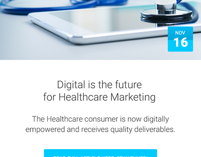 Digital is the future for Healthcare Marketing!