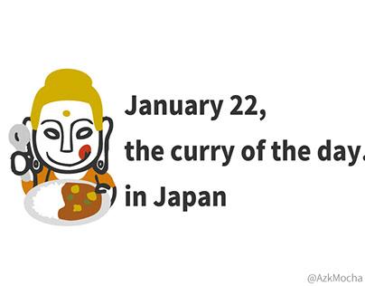 Buddha with curry