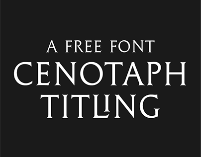 Cenotaph Titling | Free Typeface