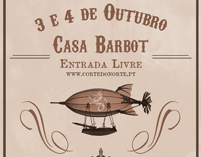 EuroSteamCon Portugal Second Poster and Schedule