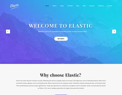 Free Elegant WordPress Theme