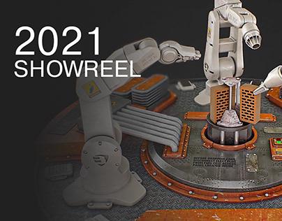 SHOWREEL 2021 Bortnikov Alexandr