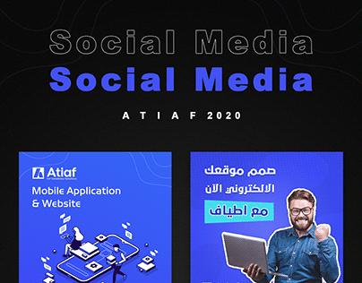 Social Media - Atiaf 2020