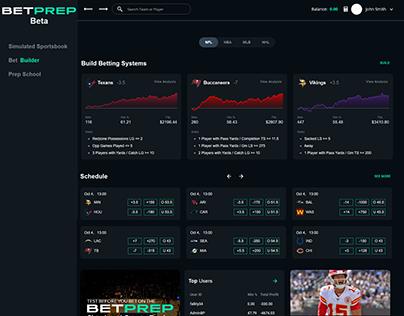 BetPrep- Betting System