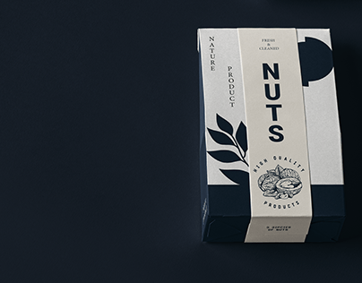 Nuts package. Concept
