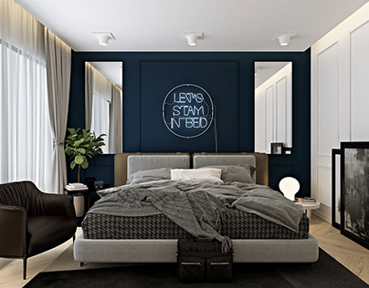 3D Interior Scenes File 3dsmax Model Bedroom 48