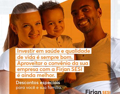 Firjan SESI - Mail Marketing Convênio