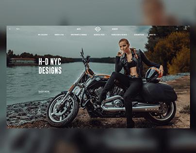 HARLEY DAVIDSON NYC — Online store