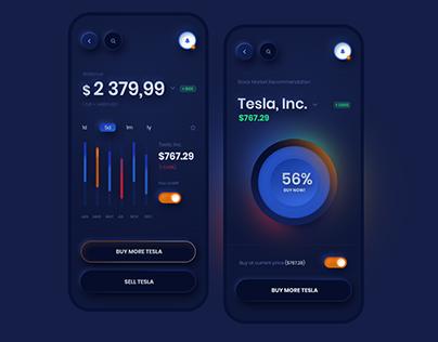 Tesla Stock App