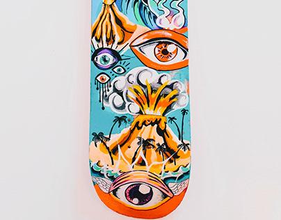 skate painting step by step