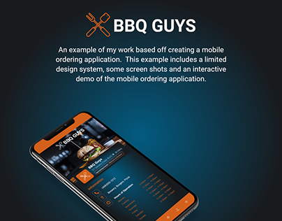 Mobile Ordering Example
