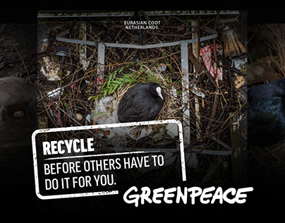 Recycle, before others have to do it for you.
