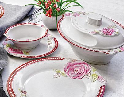 Sapphire Dinnerware - Packaging Design