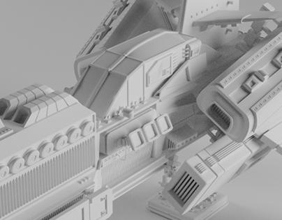 Blank Spaceships