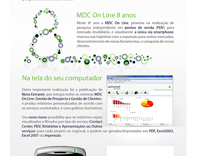 Email Mkt - 8 anos