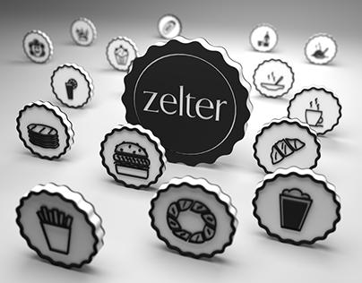 Zelter bar Poster