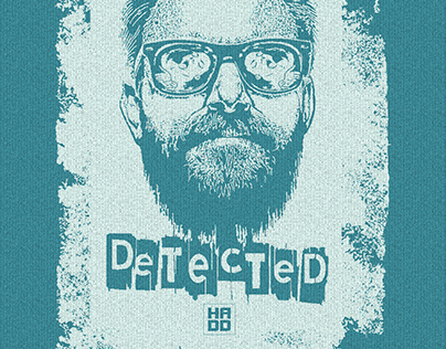"T-shirt - ""MAD TEASER""- ""DETECTED"""