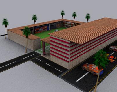 Badshahi Mosque 3ds Max Model on Behance