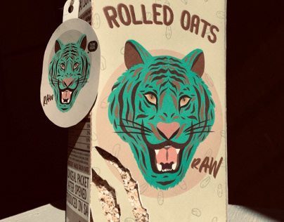 Packaging design for rolled oats