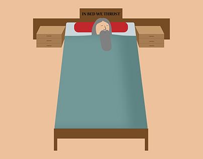 IN BED WE THRUST