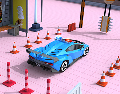 Police Car Parking _Ui And Promos