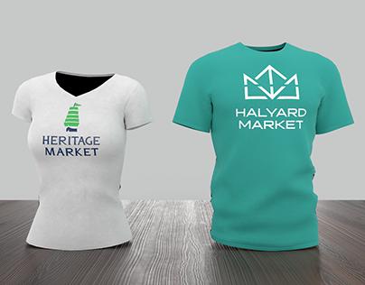 Historic Properties Market Mall Identity Redesign