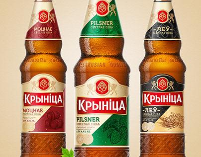 Redesign of beer Krynica