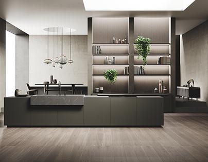 Kitchen Realistic Render #147