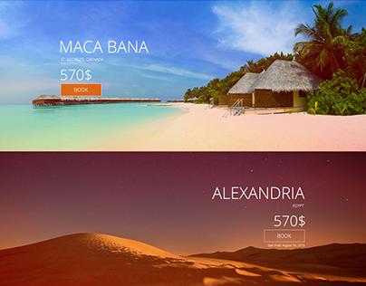 Vacations Tribook website