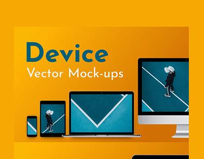 9 Vector Device Mockups