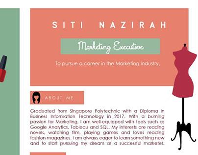 Siti Nazirah On Behance