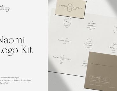 Naomi Minimal Logo Kit Ai,Eps,Psd