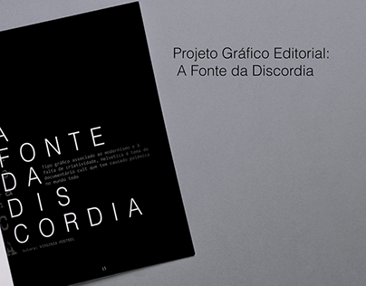 Projeto Editorial: A Fonte da Discordia