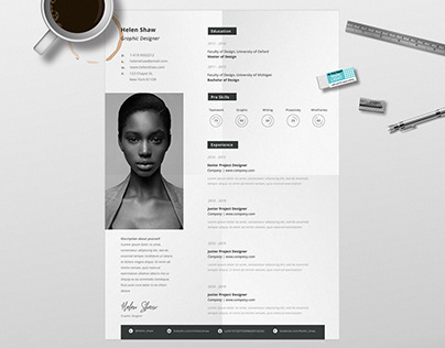 Pollux Resume Template