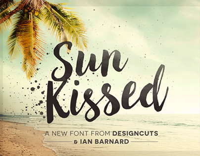 Sun Kissed - Brush Font