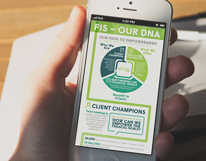 """FIS """"Brand Positioning"""" - Digital Infographic"""