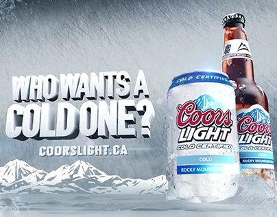 COORS LIGHT — Who Wants a Cold One?